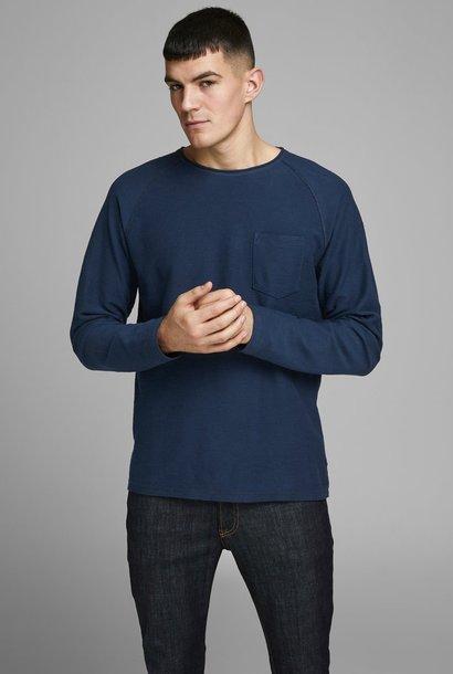 JACK & JONES col ras-du-cou sweat-shirt