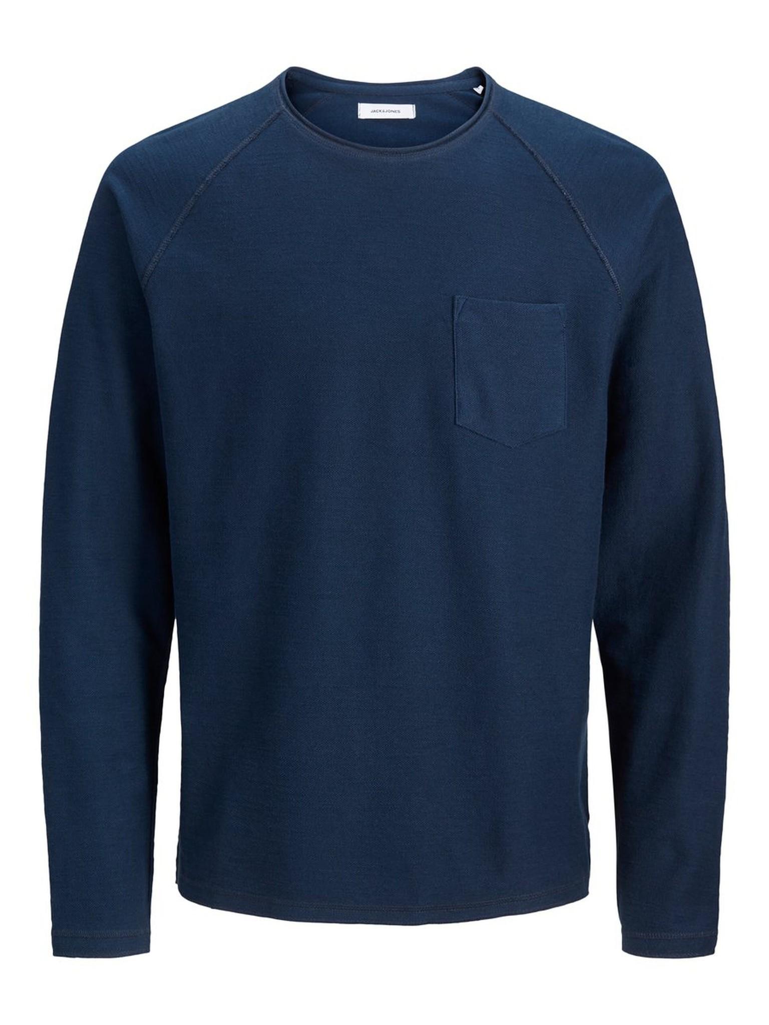 JACK & JONES col ras-du-cou sweat-shirt-6