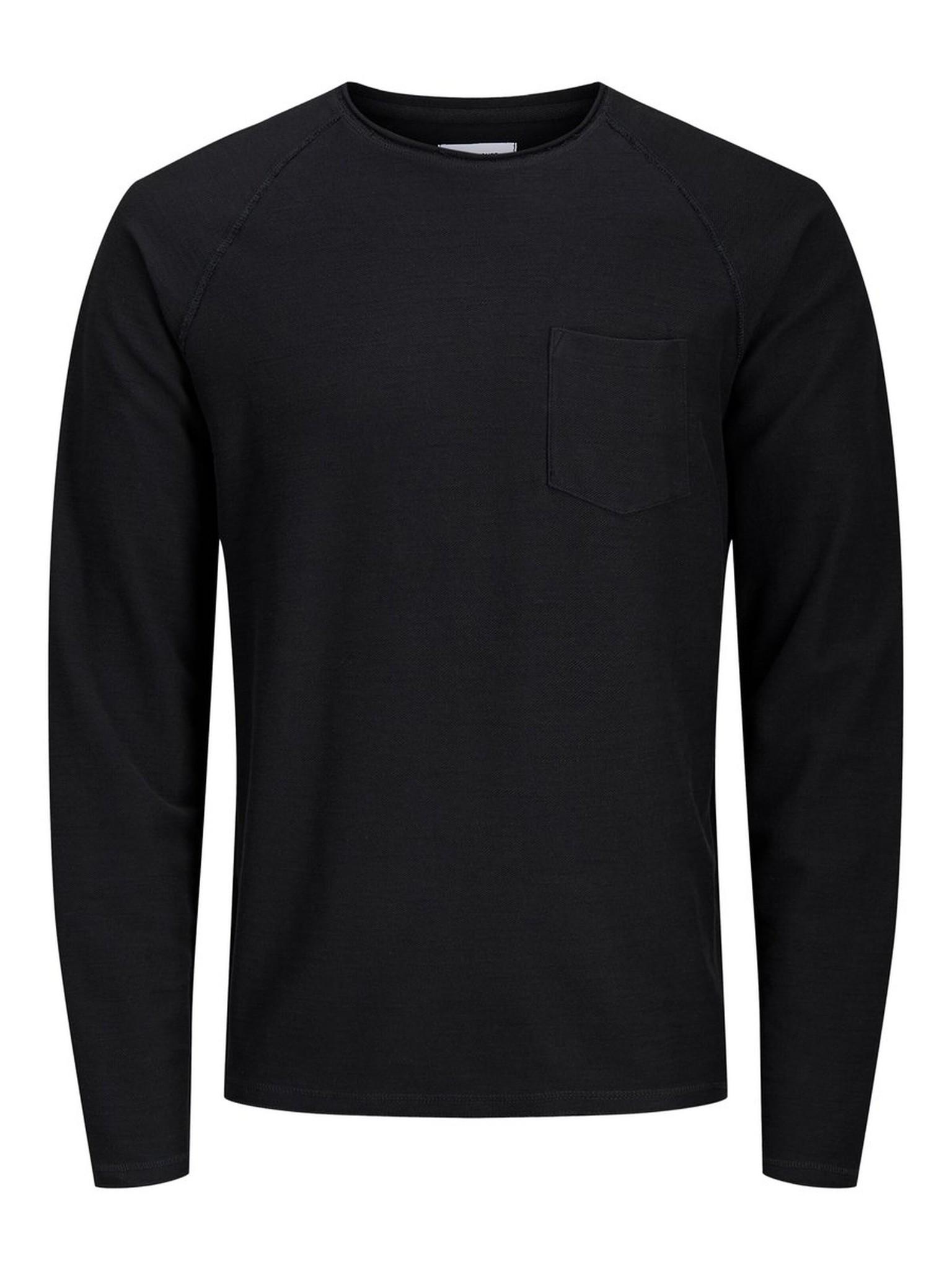 JACK & JONES col ras-du-cou sweat-shirt-12
