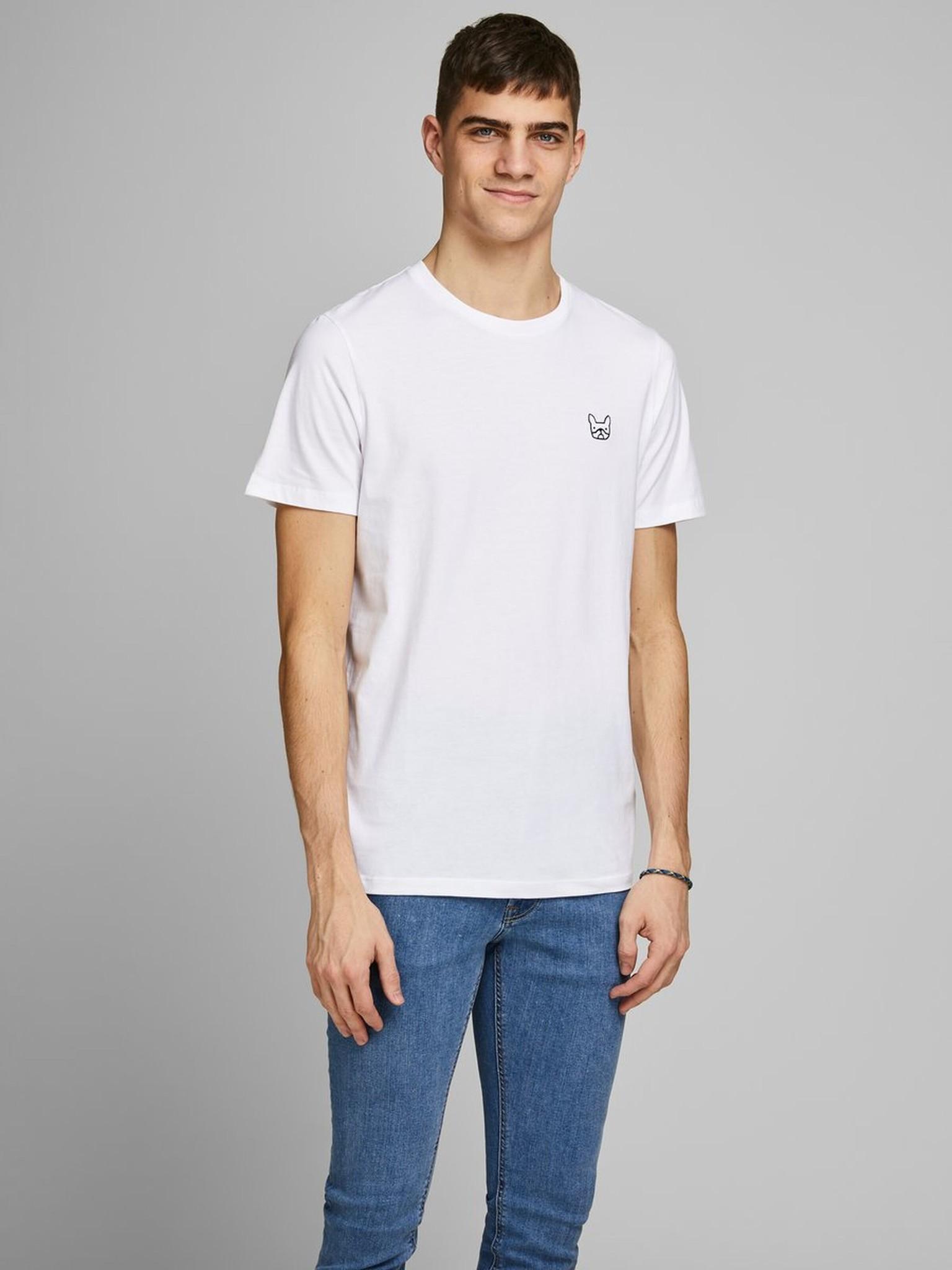 JACK & JONES coton biologique t shirt-2