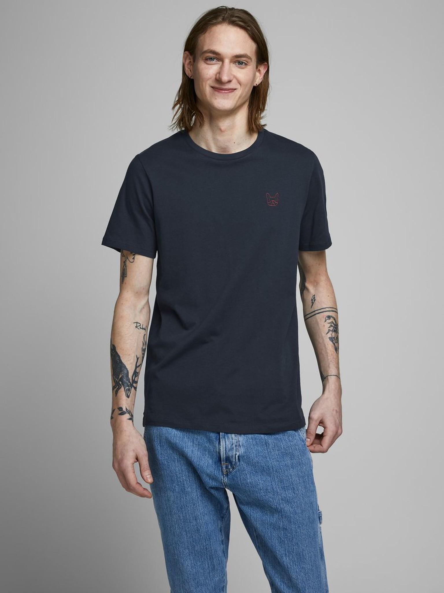 JACK & JONES coton biologique t shirt-1