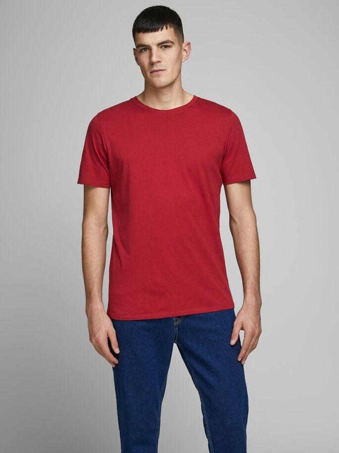 JACK & JONES t-shirt coton biologique-1