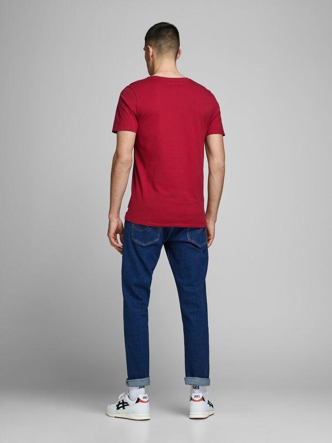 JACK & JONES t-shirt coton biologique-2