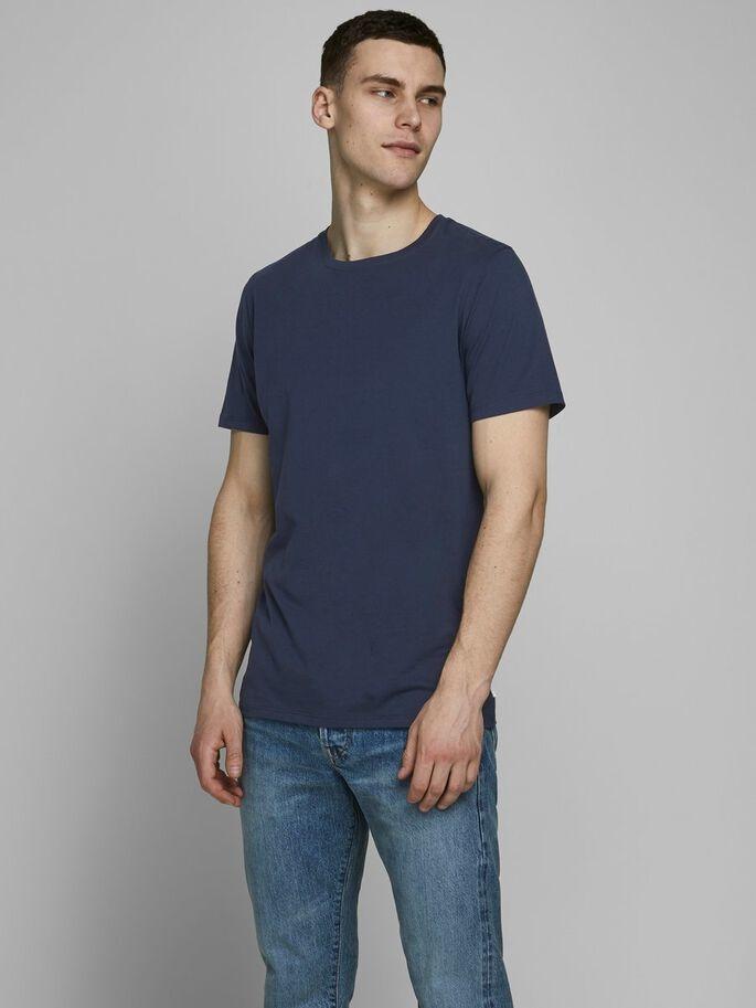 JACK & JONES t-shirt coton biologique-7