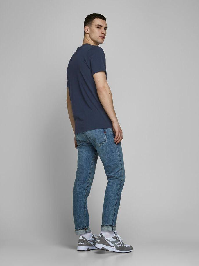 JACK & JONES t-shirt coton biologique-8