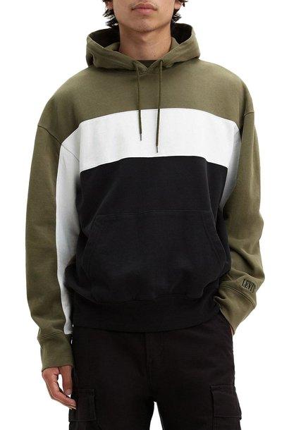LEVIS wavy coulourblock hoodie