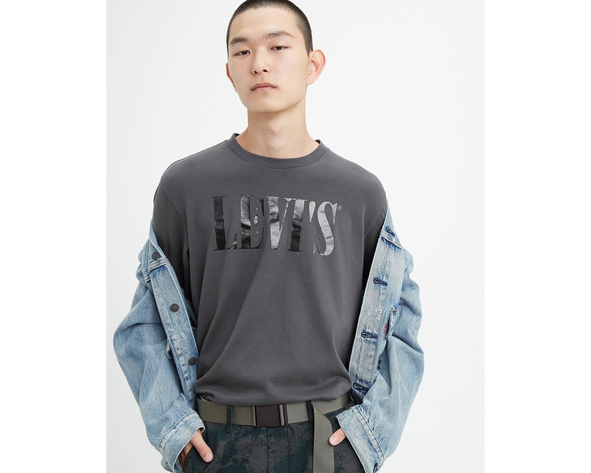 LEVIS relaxed graphic tee-1