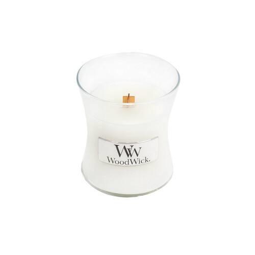 WOOD WICK mini jarre teck blanc-1