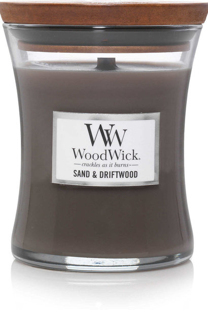 WOOD WICK medium sable & bois flotté