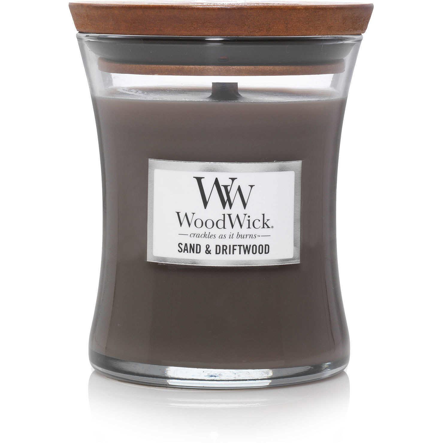 WOOD WICK moyenne sable & bois flotté-1