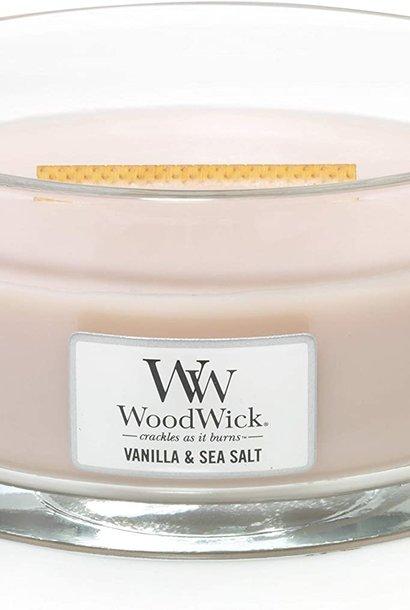 WOOD WICK ellipse vanille & sel marin