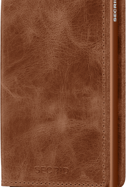 SECRID slimwallet vintage cognac rust