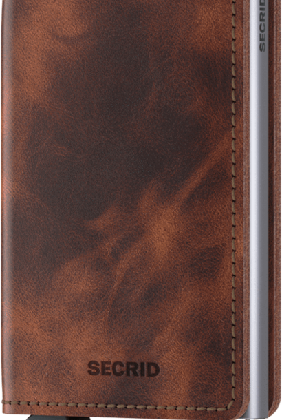 SECRID slimwallet vintage brown