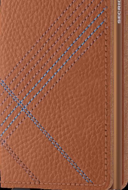 SECRID slimwallet stitch linea caramello