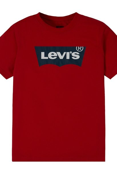 LEVIS batwing tee red