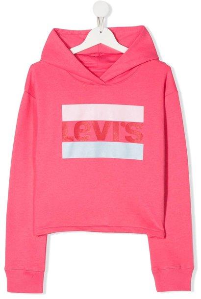 LEVIS cropped sportswear logo