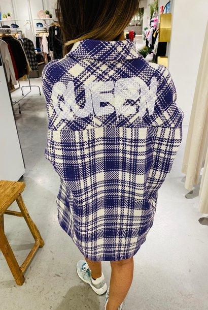 PEPITES veste queen mauve