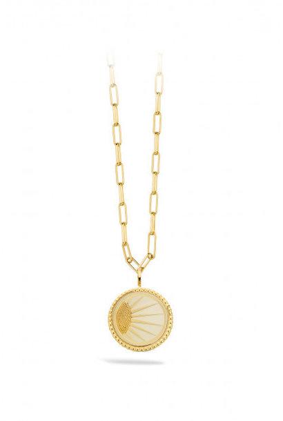 MYA BAY  collier divine - ivoire