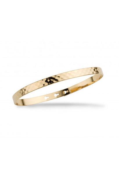 MYA BAY bracelet jonc martelé
