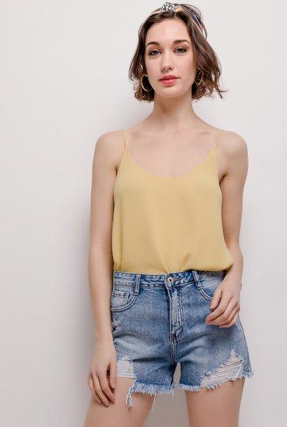 PEPITES short en jeans chic