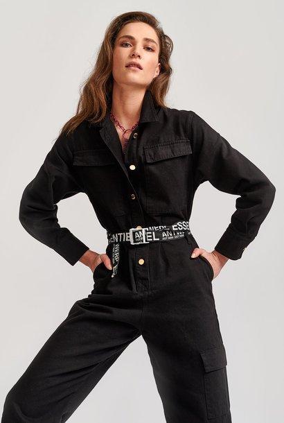 ESSENTIEL combinaison jean noir