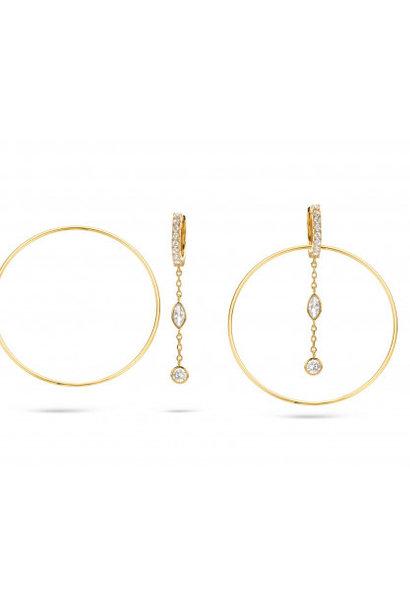 MYA BAY boucles d'oreilles royal hoops