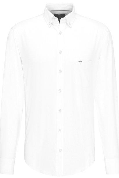 FYNCH chemise boutonnée à la structure subtile