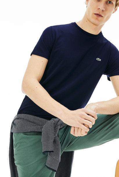LACOSTE t-shirt col rond coton