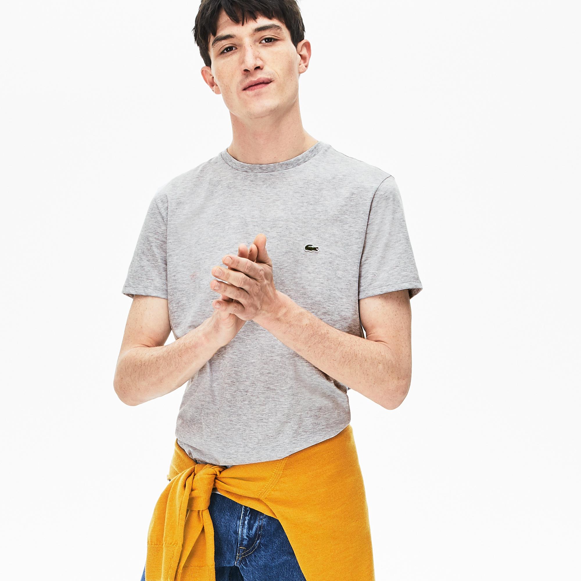 LACOSTE t-shirt col rond coton-1
