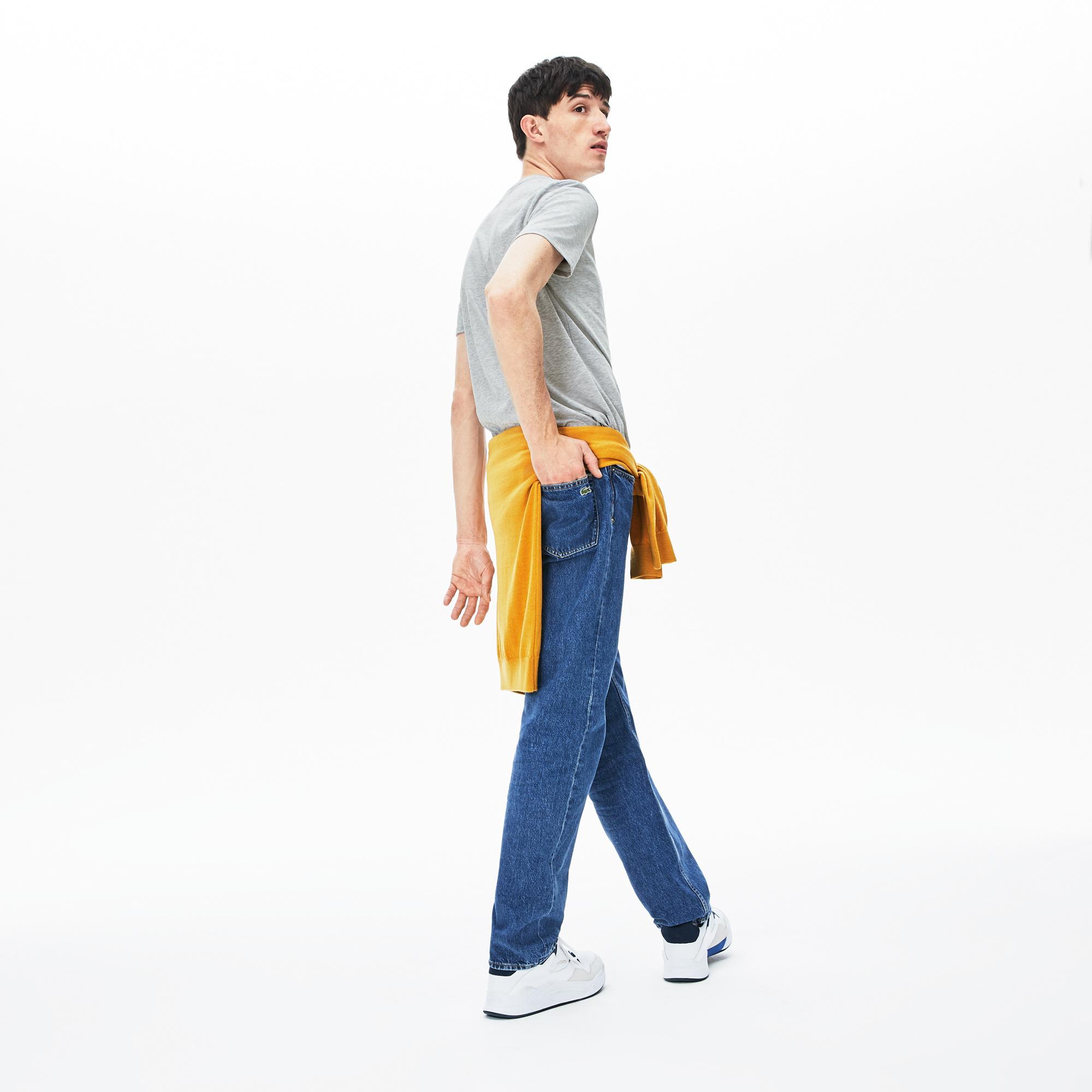LACOSTE t-shirt col rond coton-2