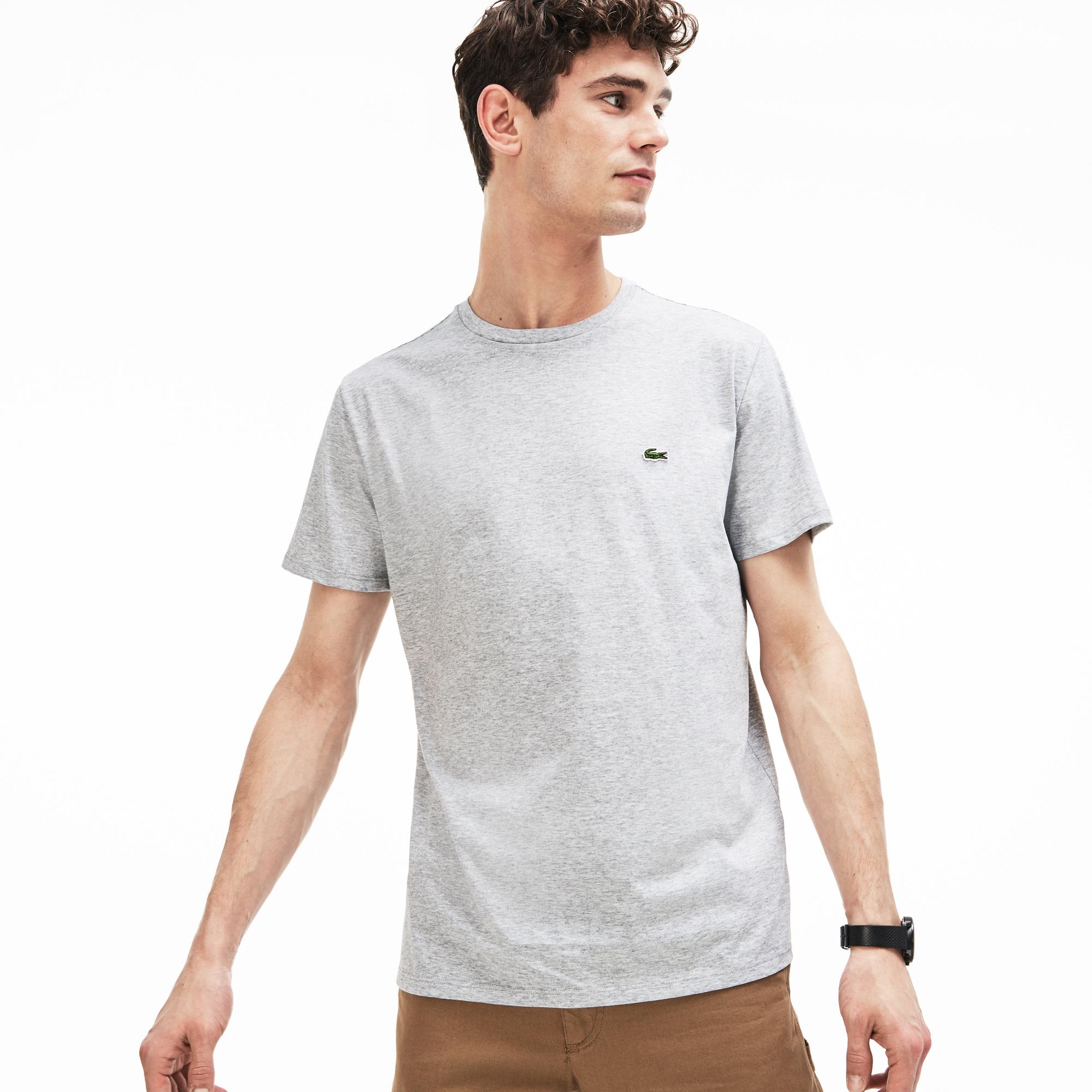 LACOSTE t-shirt col rond coton-3