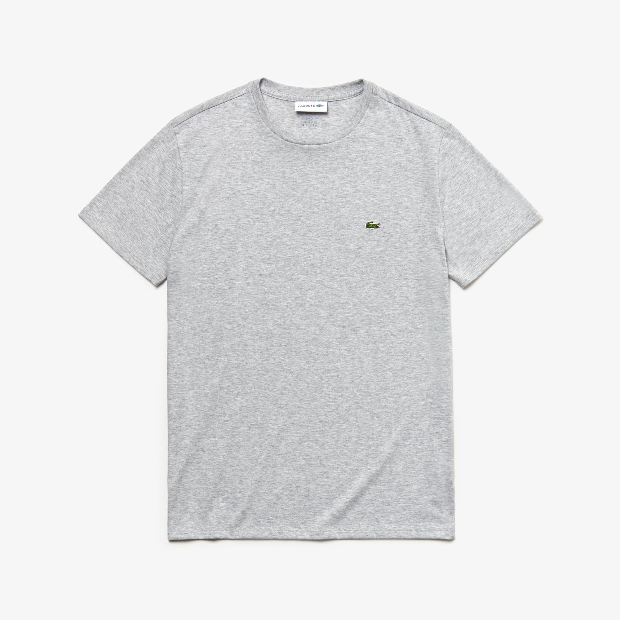 LACOSTE t-shirt col rond coton-4