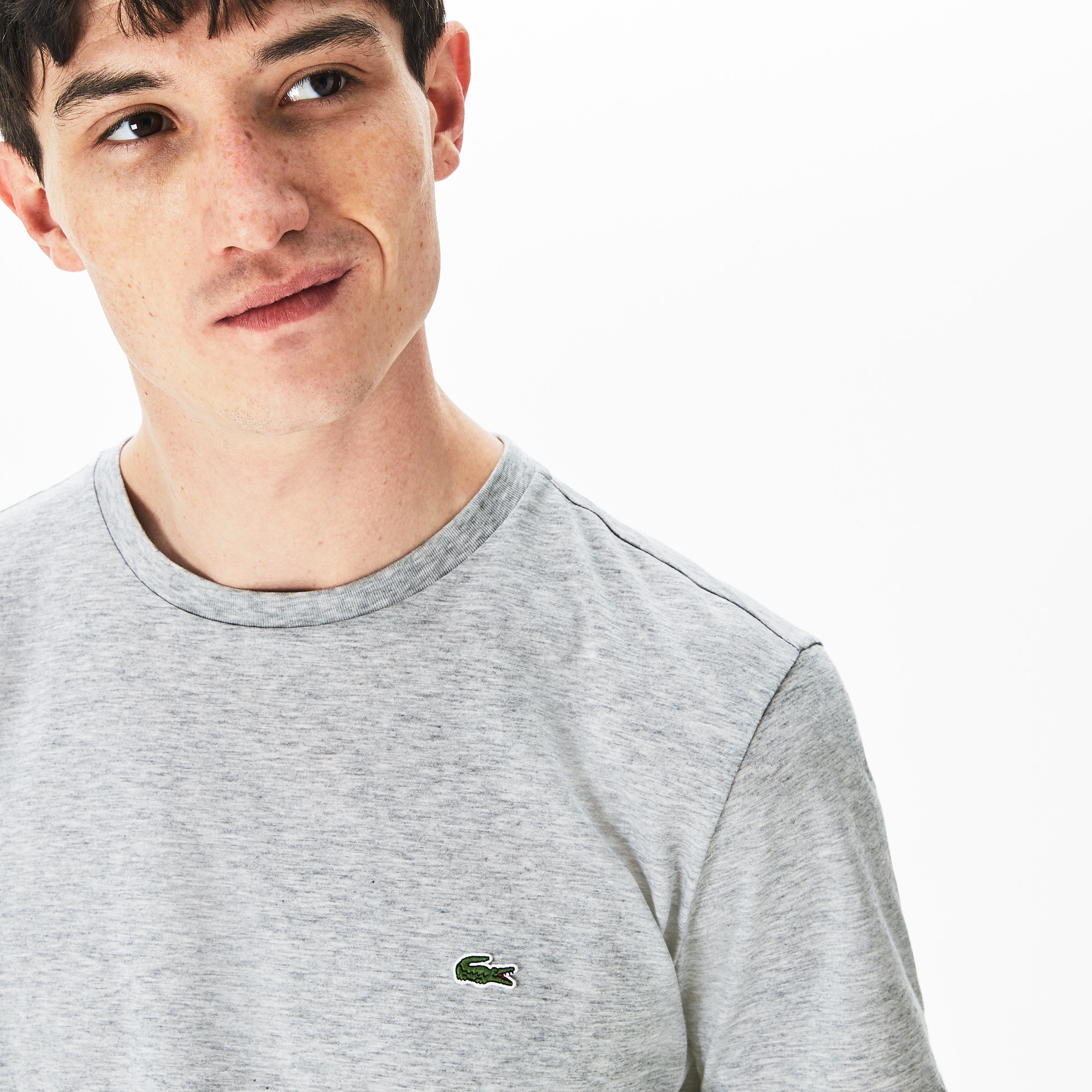 LACOSTE t-shirt col rond coton-5