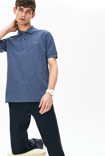 LACOSTE polo chiné