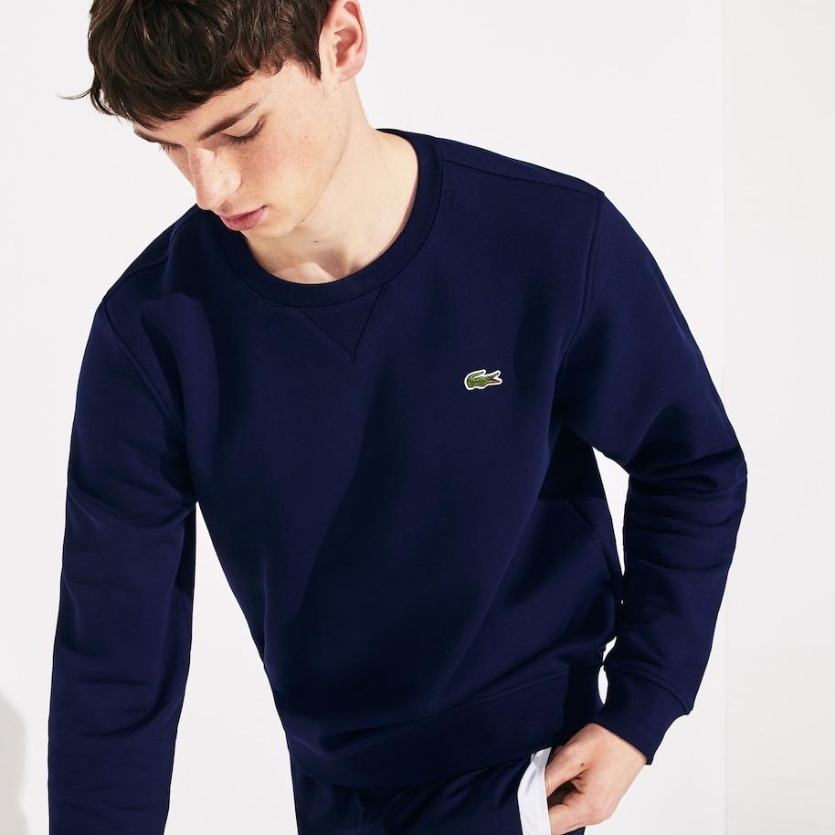 LACOSTE sweatshirt col rond-4
