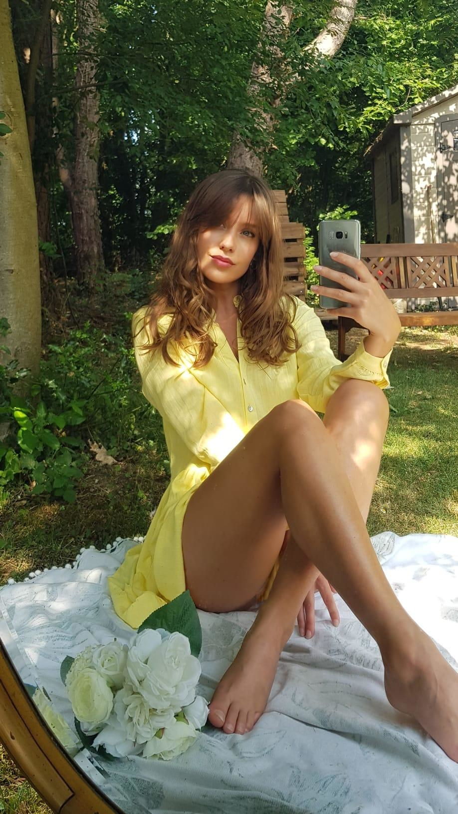 PEPITES robe yellow-1
