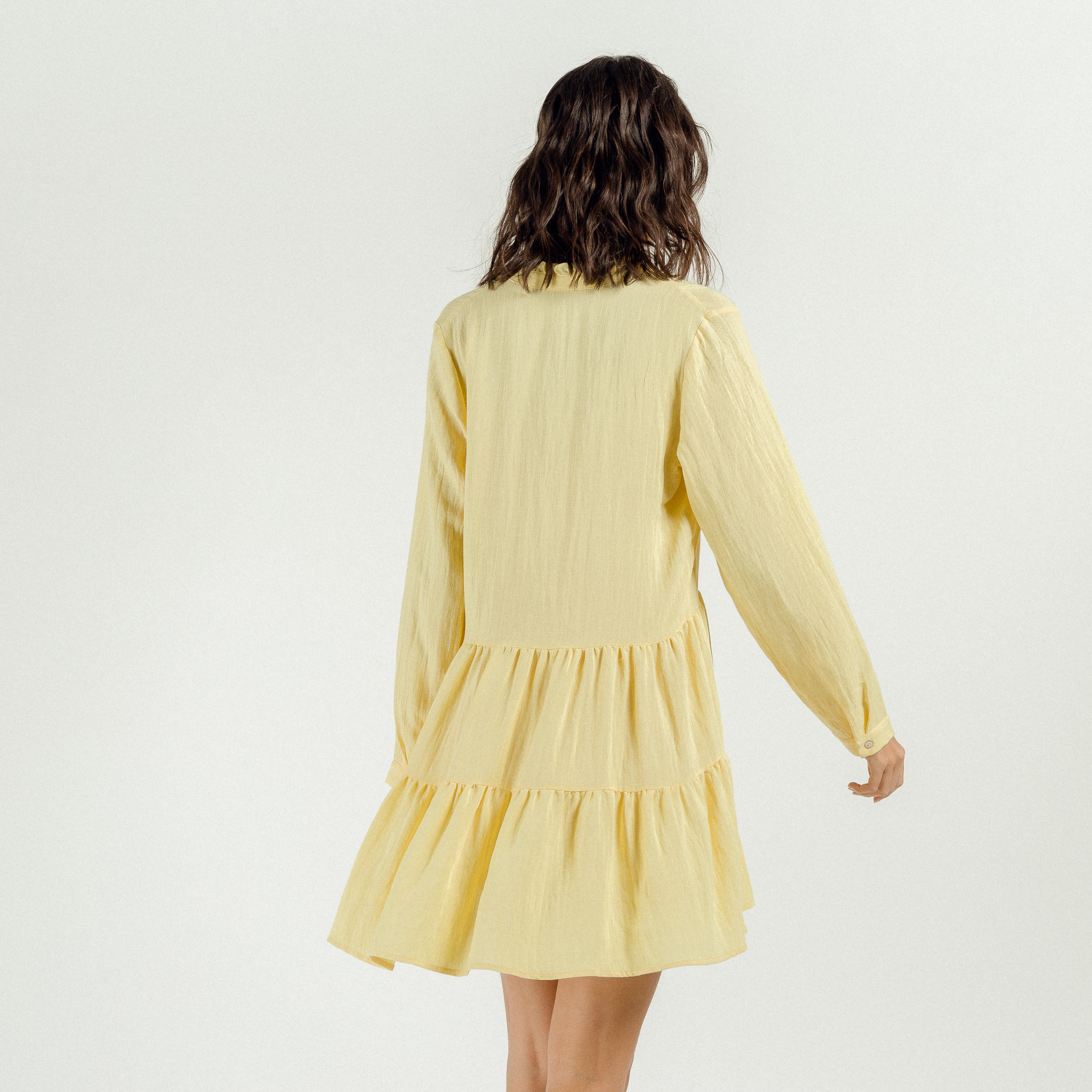 PEPITES robe yellow-4