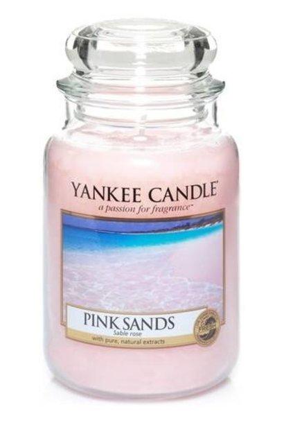 YANKEE CANDLE grande jarre pink sands