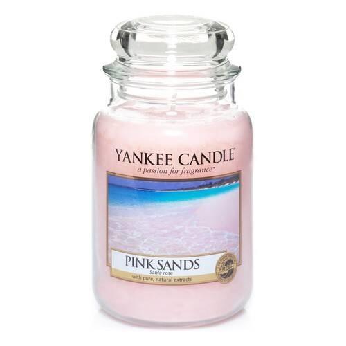 YANKEE CANDLE grande jarre pink sands-1