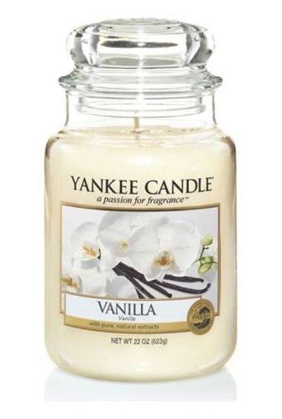 YANKEE CANDLE grande jarre vanille