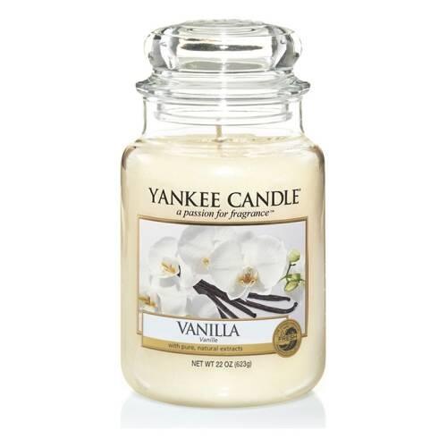 YANKEE CANDLE grande jarre vanille-1