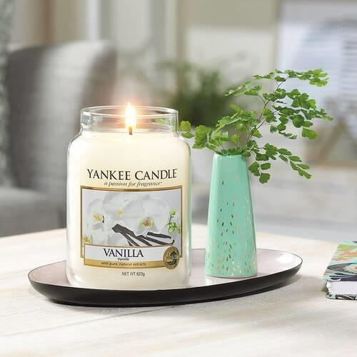 YANKEE CANDLE grande jarre vanille-2