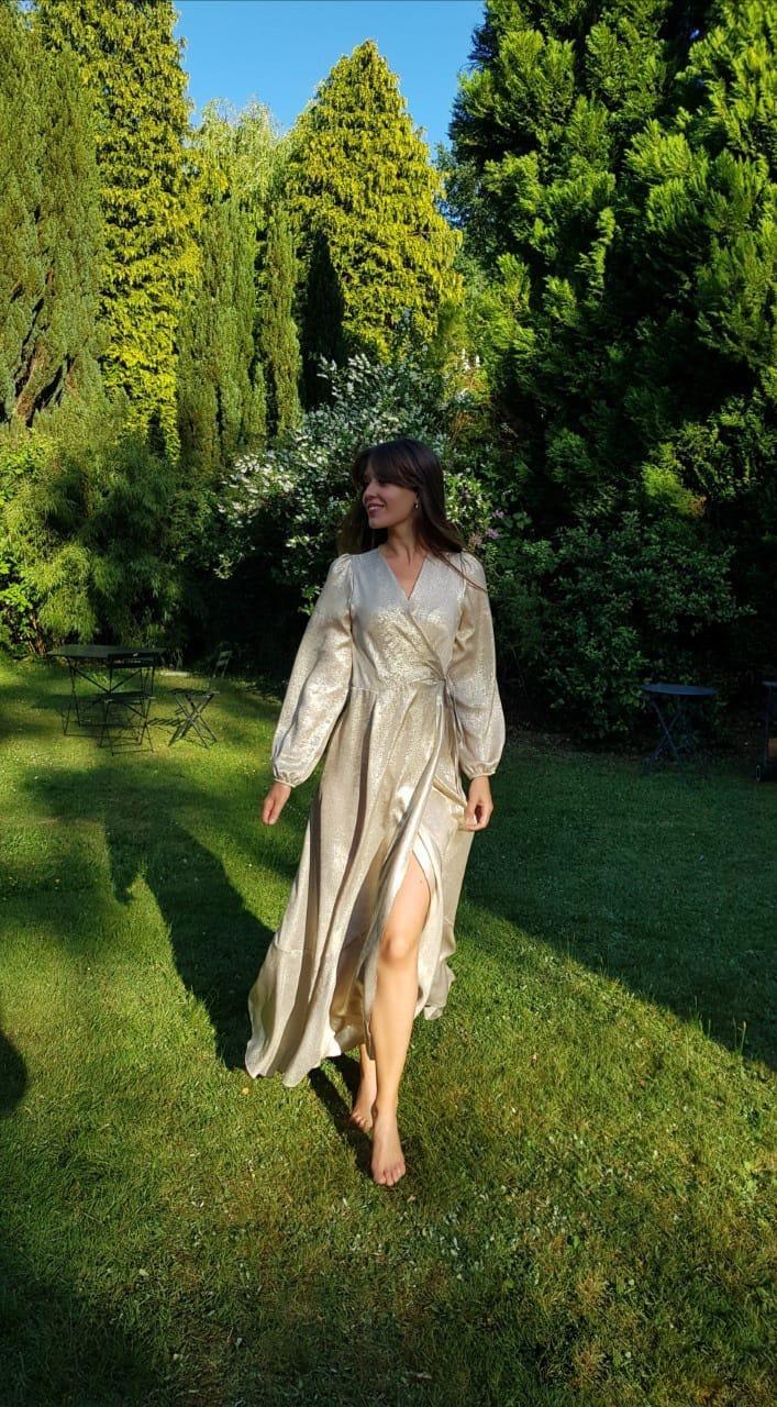 PEPITES robe gold-1