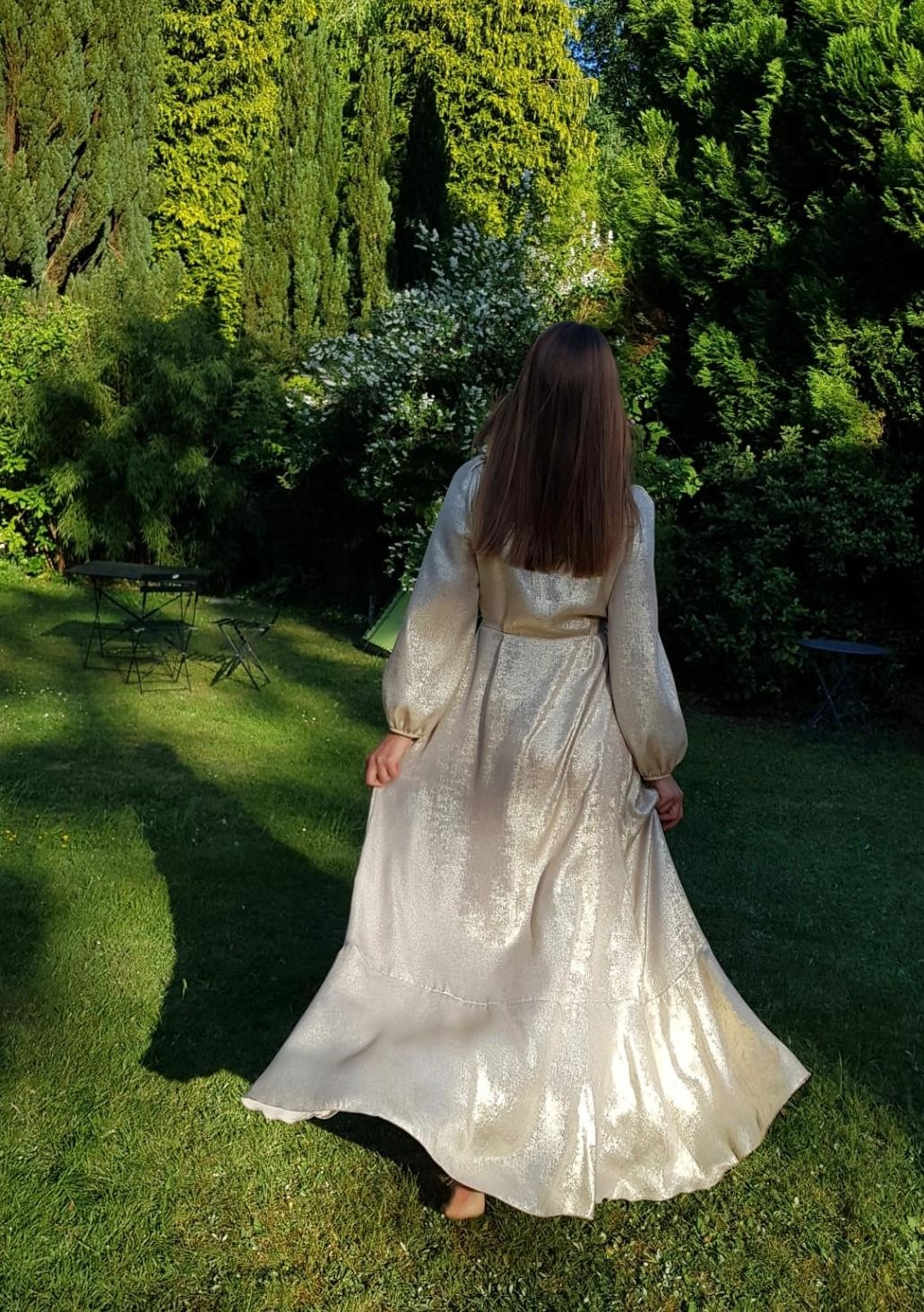 PEPITES robe gold-3