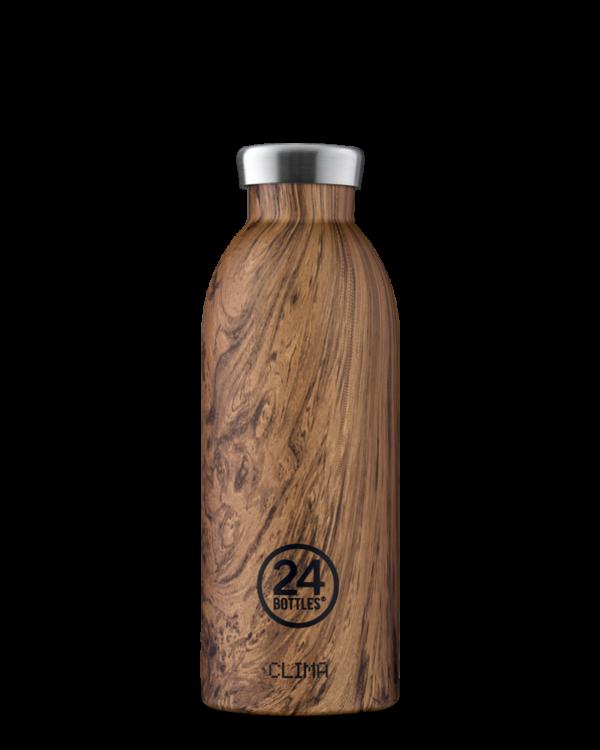 24 BOTTLES gourde clima bois de séquoia 500ml-1