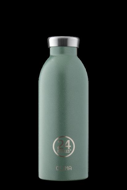 24 BOTTLES bouteille clima vert mousse
