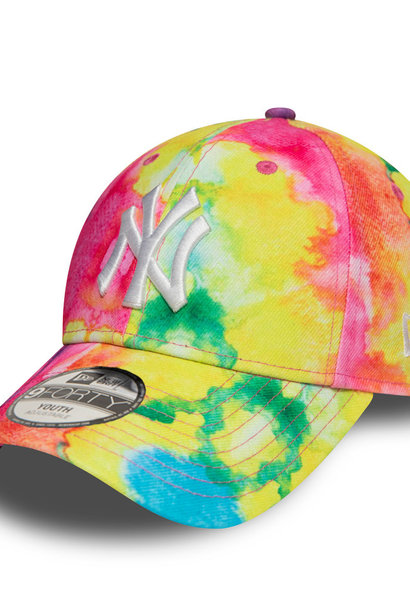 NEW ERA 9forty tie-dye new york yankees