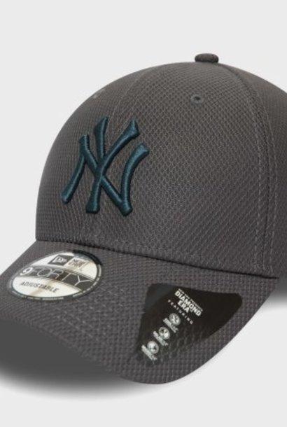NEW ERA 9forty diamond era yankees new york grise