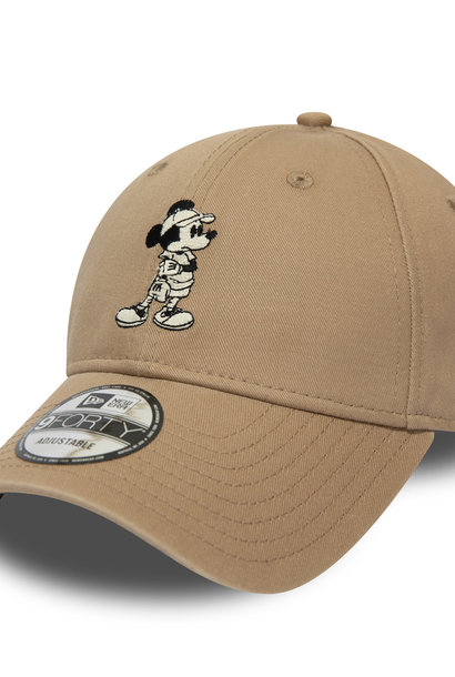 NEW ERA 9forty mickey mouse street fauve