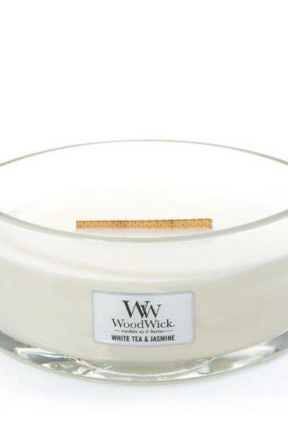 WOOD WICK ellipse thé blanc & jasmin